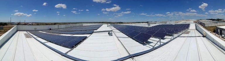 instalacion industrial fotovoltaica